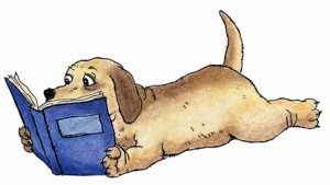 dog-reading