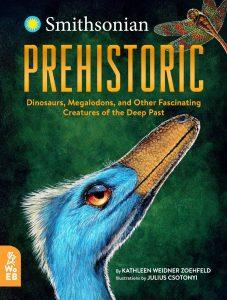 Illustration of a prehistoric bird.